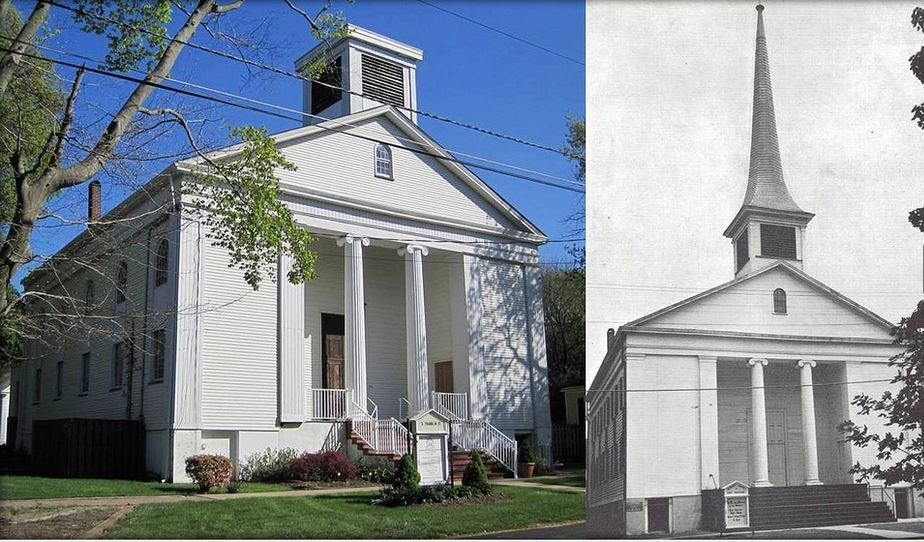 Calvary Baptist Church, Before and After